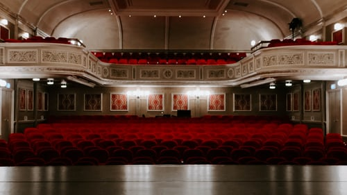 Beautiful theaters from our architectural studio